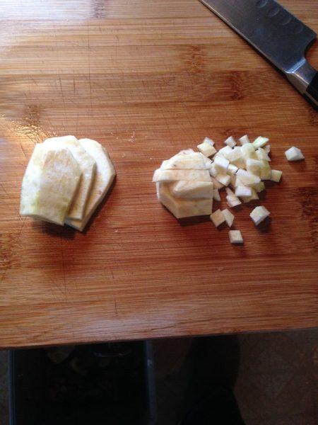 miso-vegetable-soup-celeriac-chopping
