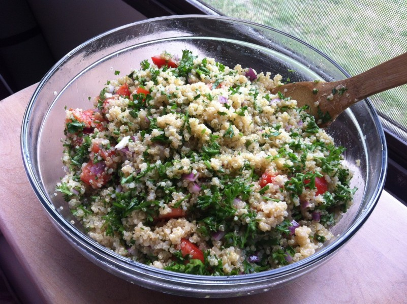 Beautiful Quinoa Tabouli