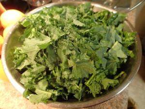 Chopped Broccoli Rabe