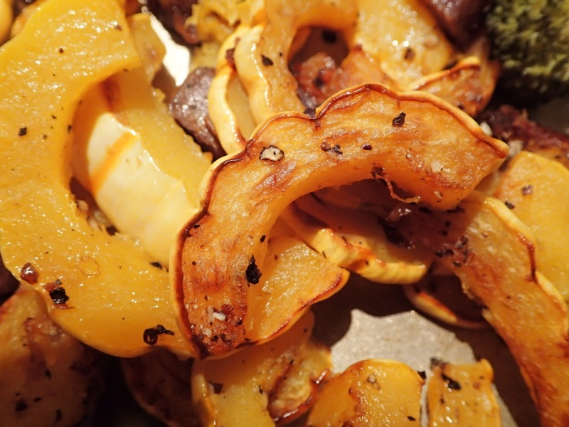 Delicata Roasted Featured