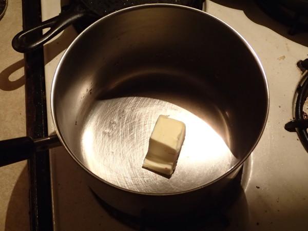 Steamed Cauliflower Melting Butter