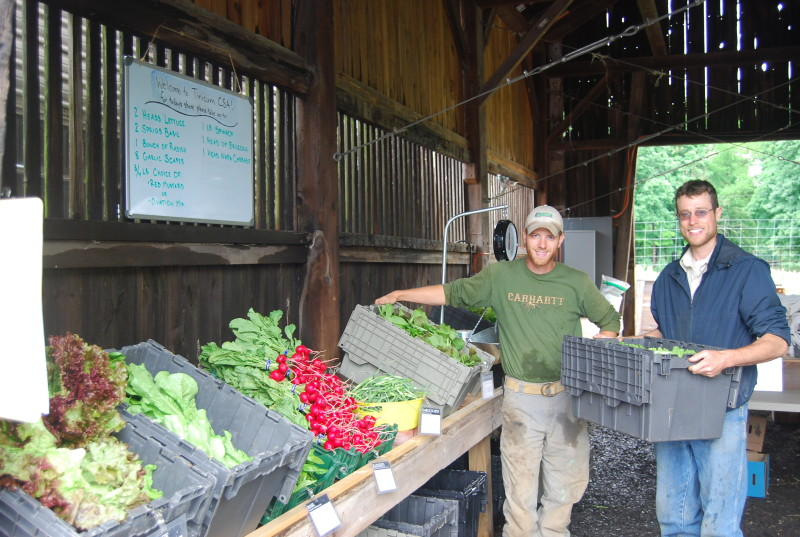 John and Stefan Welcome You to a Farm Pick-Up